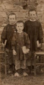 jean-marie à gauche, léon au milieu