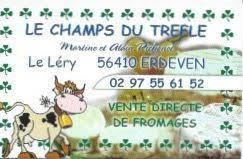 le champ du trèfle - fromage de vache