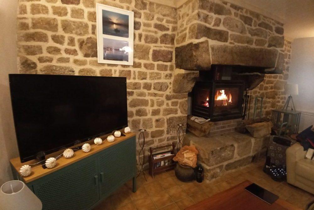 feu de cheminée ambiance cosy